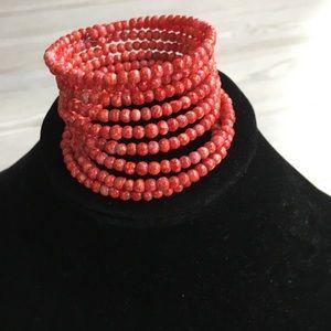 Sassy Jones Beaded Wrap Bracelet